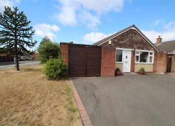 Thumbnail 3 bed detached bungalow for sale in Shrewsbury Road, Stretton, Burton-On-Trent