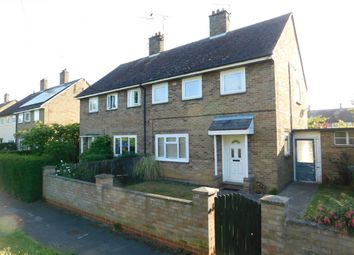 Thumbnail 3 bed semi-detached house to rent in Welmore Road, Glinton, Peterborough