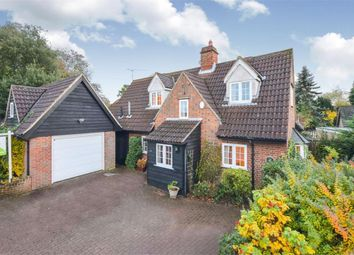Thumbnail 4 bed detached house for sale in Station Road, Felsted, Dunmow