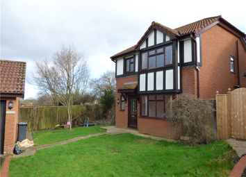Thumbnail 3 bed detached house to rent in York Close, Axminster, Devon