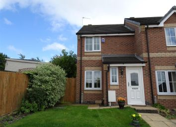 Thumbnail 2 bed town house for sale in Hedingham Close, Ilkeston