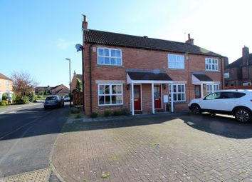 Thumbnail 2 bedroom end terrace house for sale in Marten Close, York