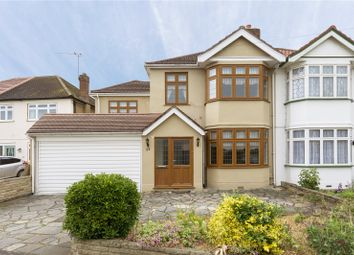 Thumbnail 4 bed semi-detached house for sale in Moor Lane, Upminster