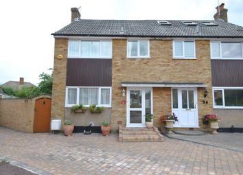 Thumbnail 4 bed semi-detached house for sale in Colston Crescent, Goffs Oak, Waltham Cross