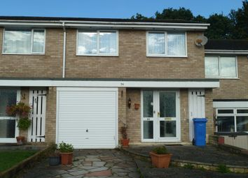 Thumbnail 3 bed terraced house for sale in Viscount Walk, Bearwood, Bournemouth