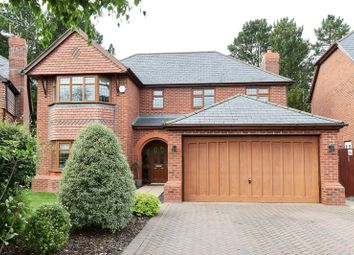 Thumbnail 4 bed detached house for sale in Chestnut Walk, Cheddleton, Staffordshire