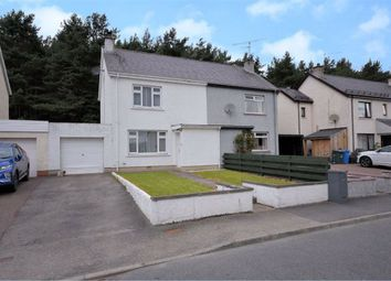 Thumbnail 2 bedroom semi-detached house for sale in Cairngorm Avenue, Grantown-On-Spey