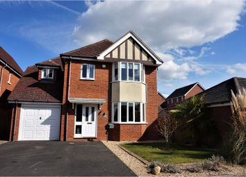 Thumbnail 4 bed detached house for sale in Newbury Drive, Stratford-Upon-Avon