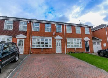 Thumbnail 3 bed terraced house for sale in Charnwood Way, Leamington Spa