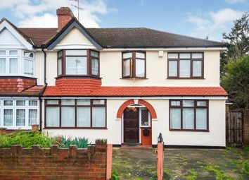 Thumbnail 4 bedroom semi-detached house for sale in Woodgrange Avenue, Enfield, Middlesex, London