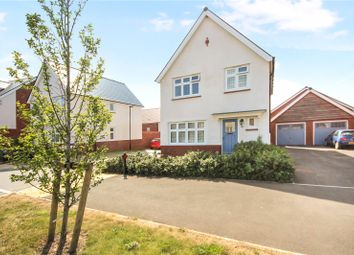 Thumbnail 3 bed detached house for sale in Homington Avenue, Badbury Park, Coate, Swindon
