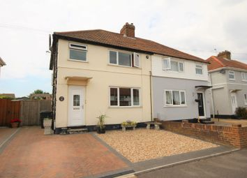 Thumbnail 3 bed semi-detached house for sale in Quern Road, Deal