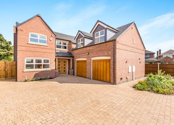 Thumbnail 5 bed detached house for sale in Grace Road, Sapcote, Leicester