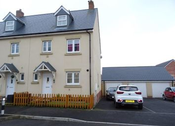 Thumbnail 4 bedroom town house for sale in Ffordd Y Draen, Coity, Bridgend