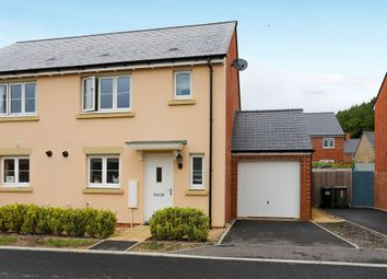 Thumbnail 3 bed semi-detached house for sale in Kendall Grove, Bovey Tracey, Newton Abbot