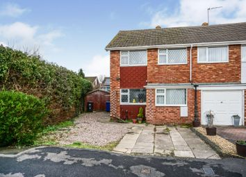 3 bed semi-detached house for sale in Swainsfield Road, Yoxall, Burton-On-Trent DE13