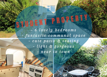 Thumbnail 6 bed terraced house to rent in Trevethan Road, Falmouth