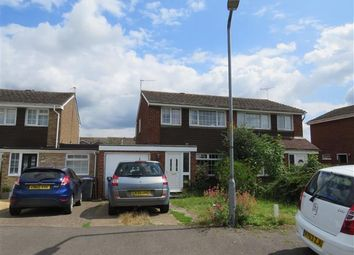 Thumbnail 3 bed semi-detached house to rent in Glebe Road, Deanshanger, Milton Keynes