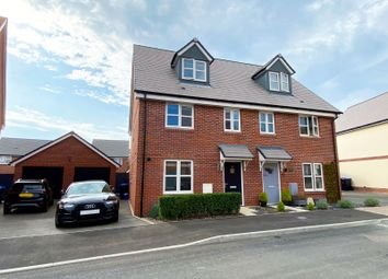 Thumbnail 4 bed semi-detached house for sale in Bellflower Drive, Worthing, West Sussex
