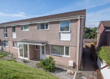 Thumbnail 3 bedroom end terrace house for sale in Leatfield Drive, Crownhill, Plymouth