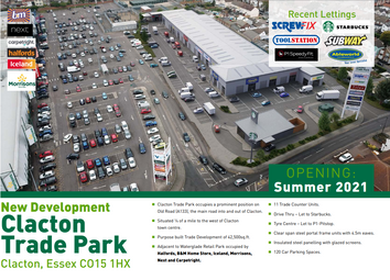 Thumbnail Retail premises to let in Clacton Trade And Leisure Park, Clacton, Essex