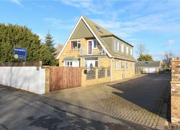 Thumbnail 4 bedroom detached house for sale in Chertsey Lane, Staines-Upon-Thames, Surrey