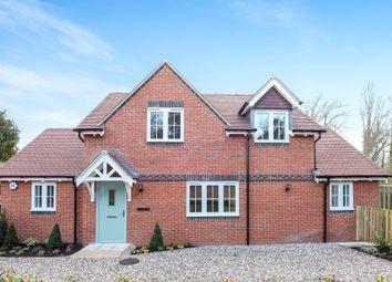 Thumbnail 3 bed detached house for sale in Sherborne St John, Basingstoke