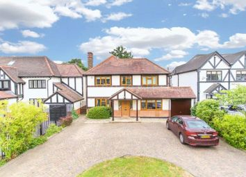 Thumbnail 5 bed detached house to rent in Forest Lane, Chigwell