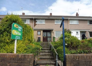 Thumbnail 2 bed terraced house for sale in Manorbier Drive, Llanyravon, Cwmbran