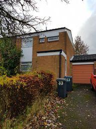 Thumbnail 2 bedroom end terrace house for sale in Hayes Croft, Kings Norton, Birmingham