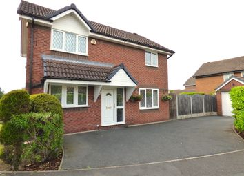 Thumbnail 3 bedroom detached house for sale in Burrington Close, Fulwood, Preston