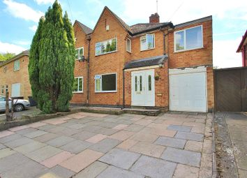 Thumbnail 4 bed semi-detached house for sale in Woodgate Drive, Birstall, Leicestershire