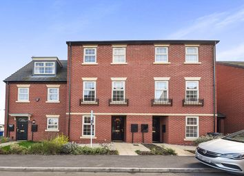 Thumbnail 4 bed town house for sale in Bramblehedge Drive, Sinfin, Derby