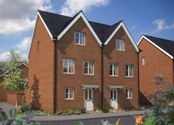 "Thumbnail 4 bed semi-detached house for sale in ""The Harrogate"" at Appleton Way, Shinfield, Reading"