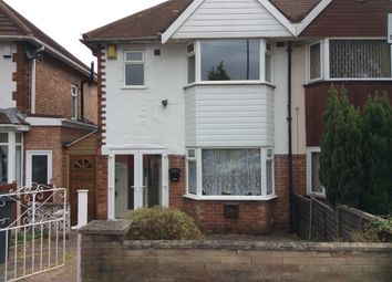Thumbnail 3 bed semi-detached house to rent in Benedon Road, Yardley, Birmingham