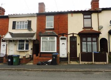 Thumbnail 2 bed terraced house to rent in Corporation Street, Wednesbury