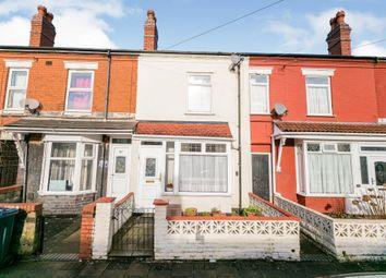 3 bed terraced house for sale in Floyer Road, Small Heath, Birmingham B10