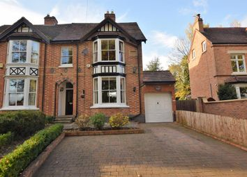 Thumbnail 4 bedroom semi-detached house for sale in Station Lane, Lapworth, Solihull