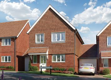 Thumbnail 4 bed link-detached house for sale in Rattle Road, Stone Cross, East Sussex