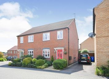 Thumbnail 3 bed semi-detached house for sale in Debdale Way, Mansfield Woodhouse, Mansfield, Nottinghamshire