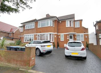 Thumbnail 4 bedroom semi-detached house for sale in Greystoke Gardens, Enfield