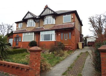 Thumbnail 3 bed semi-detached house for sale in Plodder Lane, Bolton, Greater Manchester
