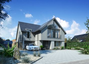 Thumbnail 4 bed detached house for sale in Rookes Lane, Lymington