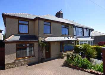 Thumbnail 4 bed semi-detached house for sale in Castle Street, Skewen, Neath .