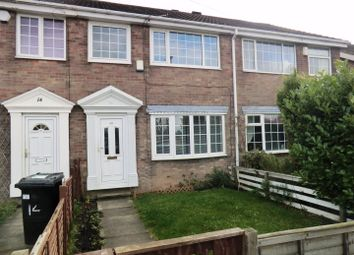 Thumbnail 3 bed terraced house to rent in Thorpe Garth, Leeds