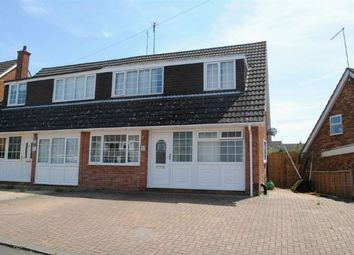 Thumbnail 4 bed semi-detached house for sale in Grasscroft, Kingsthorpe, Northampton