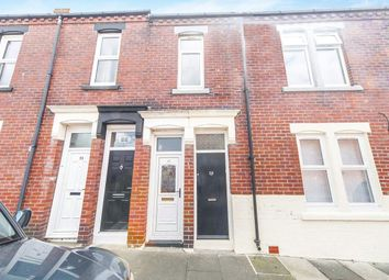 Thumbnail 3 bed flat for sale in Garrick Street, South Shields, Tyne And Wear