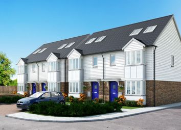 Thumbnail 3 bed town house for sale in Clock Tower Mews, Clock Tower Parade, Blean, Canterbury