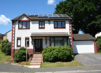 Thumbnail 4 bed detached house for sale in Churchfields Drive, Bovey Tracey, Newton Abbot