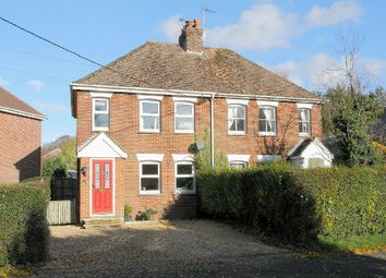 Thumbnail 3 bed semi-detached house for sale in Charlton, Andover